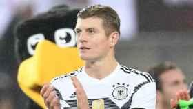Kroos con Alemania. Foto Twitter (@ToniKroos)