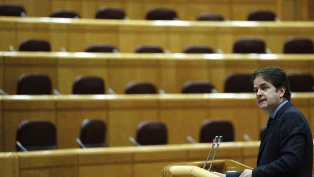 Comparecencia de Roberto Bermúdez de Castro en el Senado