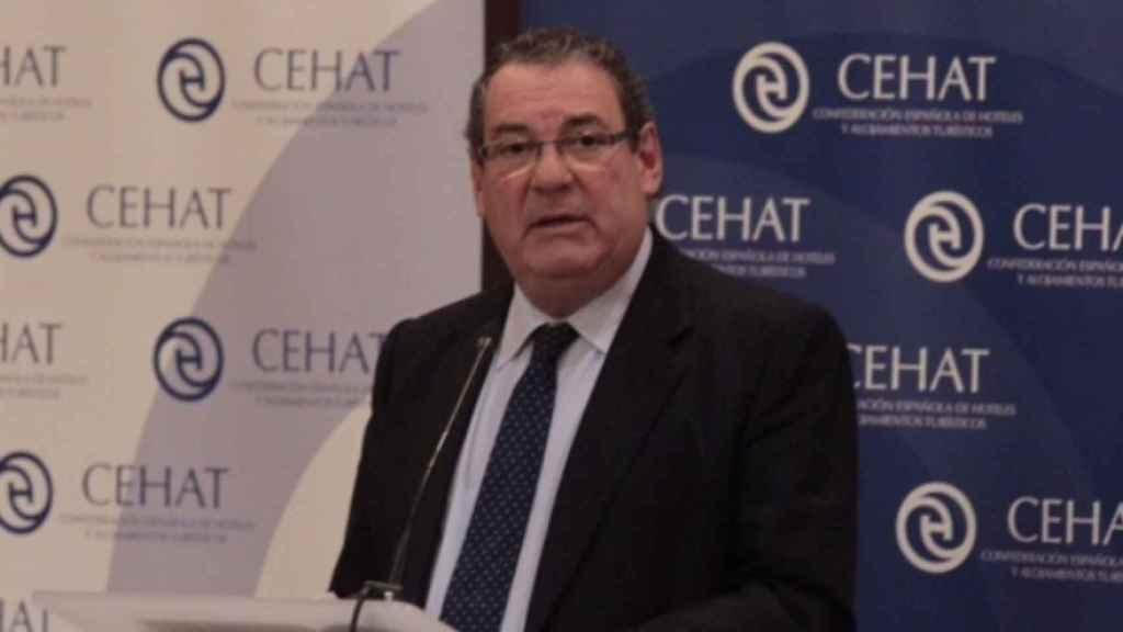 Juan Molas, presidente de CEHAT.
