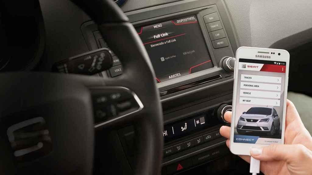 Seat y su app para sus nuevos coches.