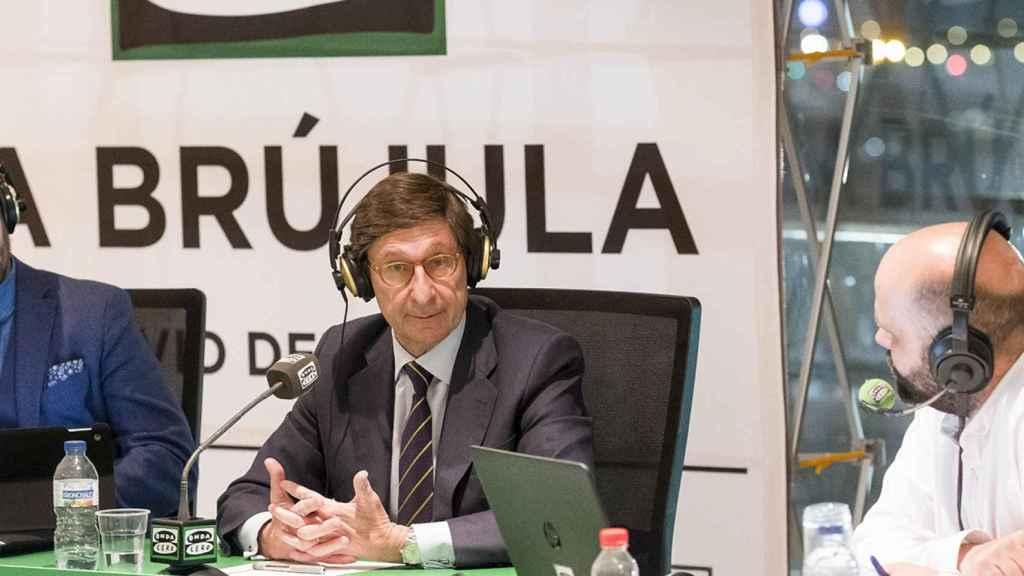 El presidente de Bankia, José Ignacio Goirigolzarri, en la Brújula de Onda Cero.