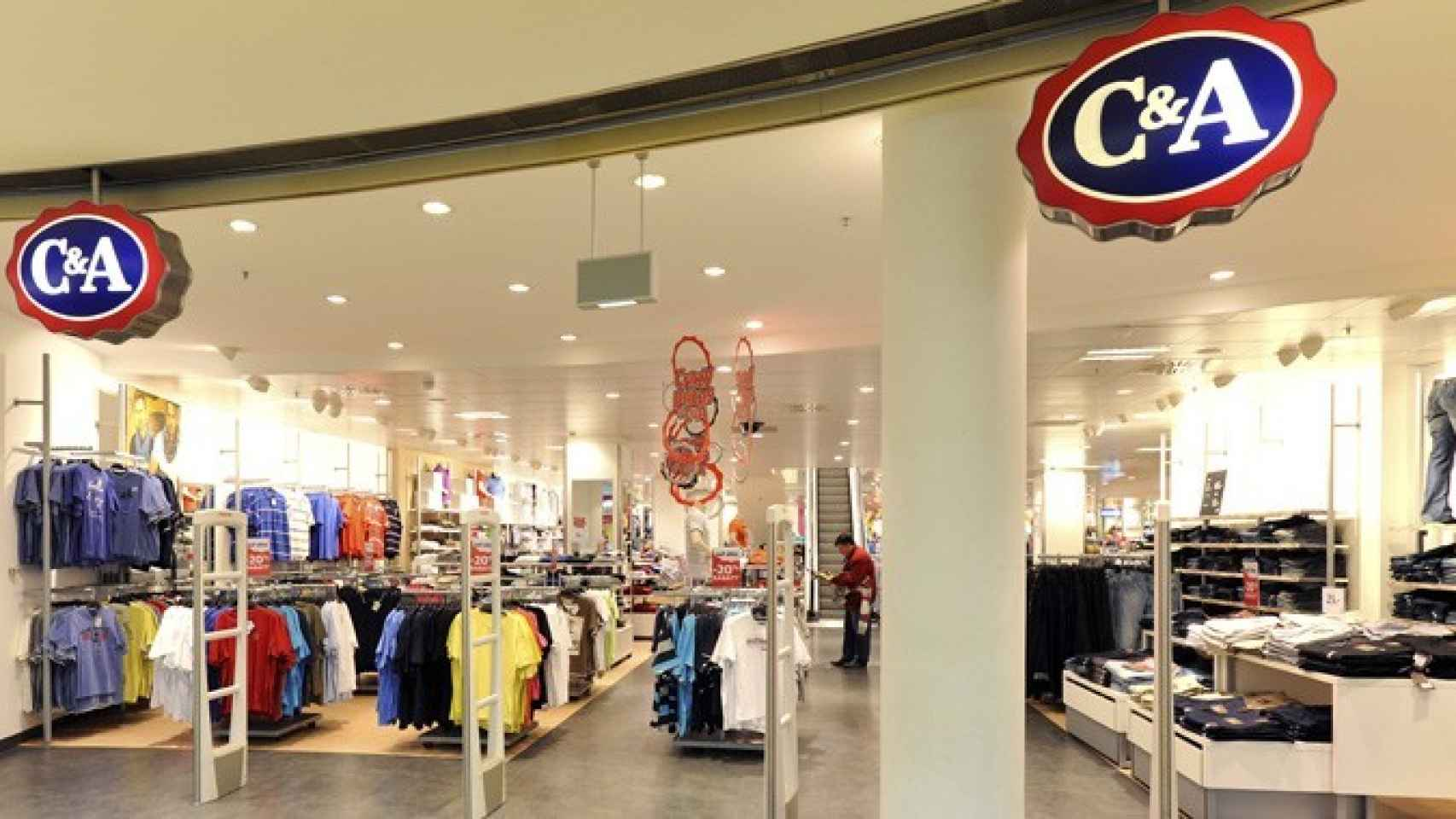 Una tienda de C&A, en una imagen de archivo.