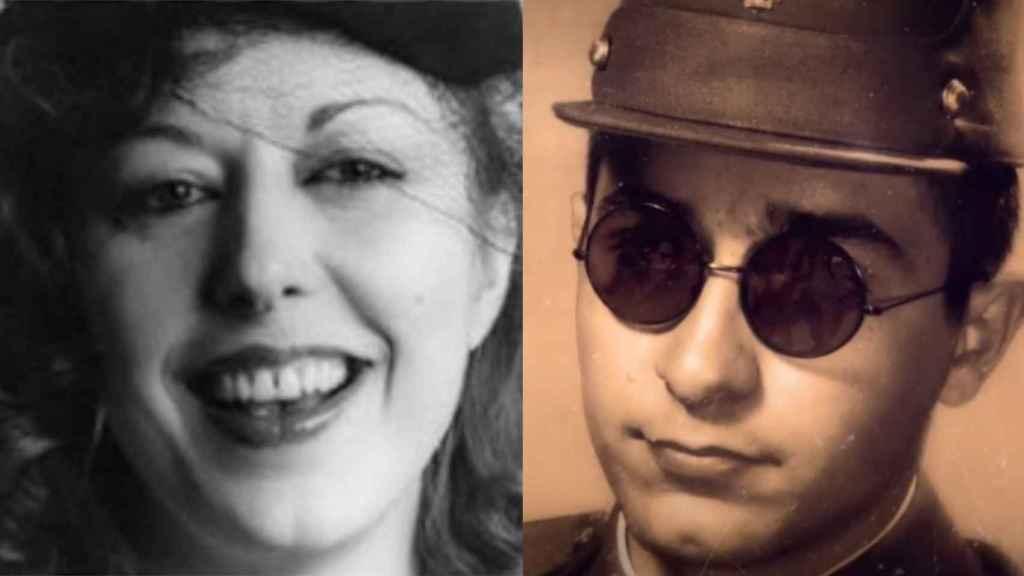 Rosa María y Xavier, dos hermanos muy unidos.