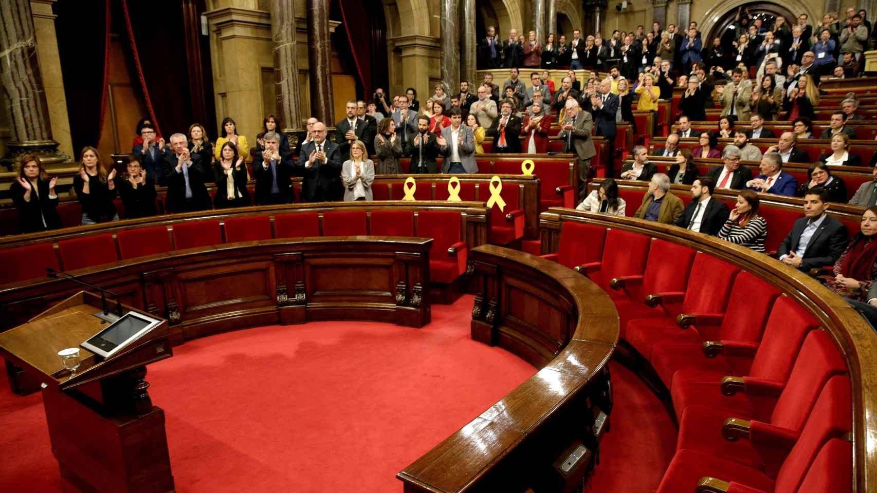 Pleno del Parlament de este sábado
