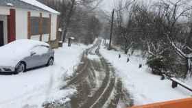 zamora sanabria carretera nieve