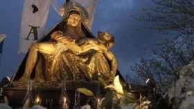 Virgen de las Angustias Semana Santa Medina del Campo