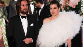 Carlota Casiraghi y Dimitri Rassam en el Baile de la Rosa.