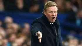 Koeman, en su etapa con el Everton. Foto evertonfc.com