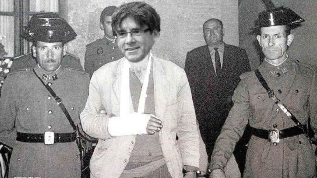 La detención de El Lute adaptada al procés por @SrdavoGil
