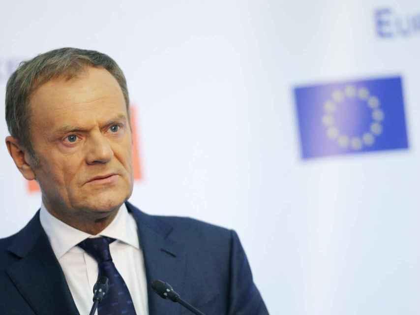 Donald Tusk ha anunciado las medidas coordinadas de la UE contra Rusia