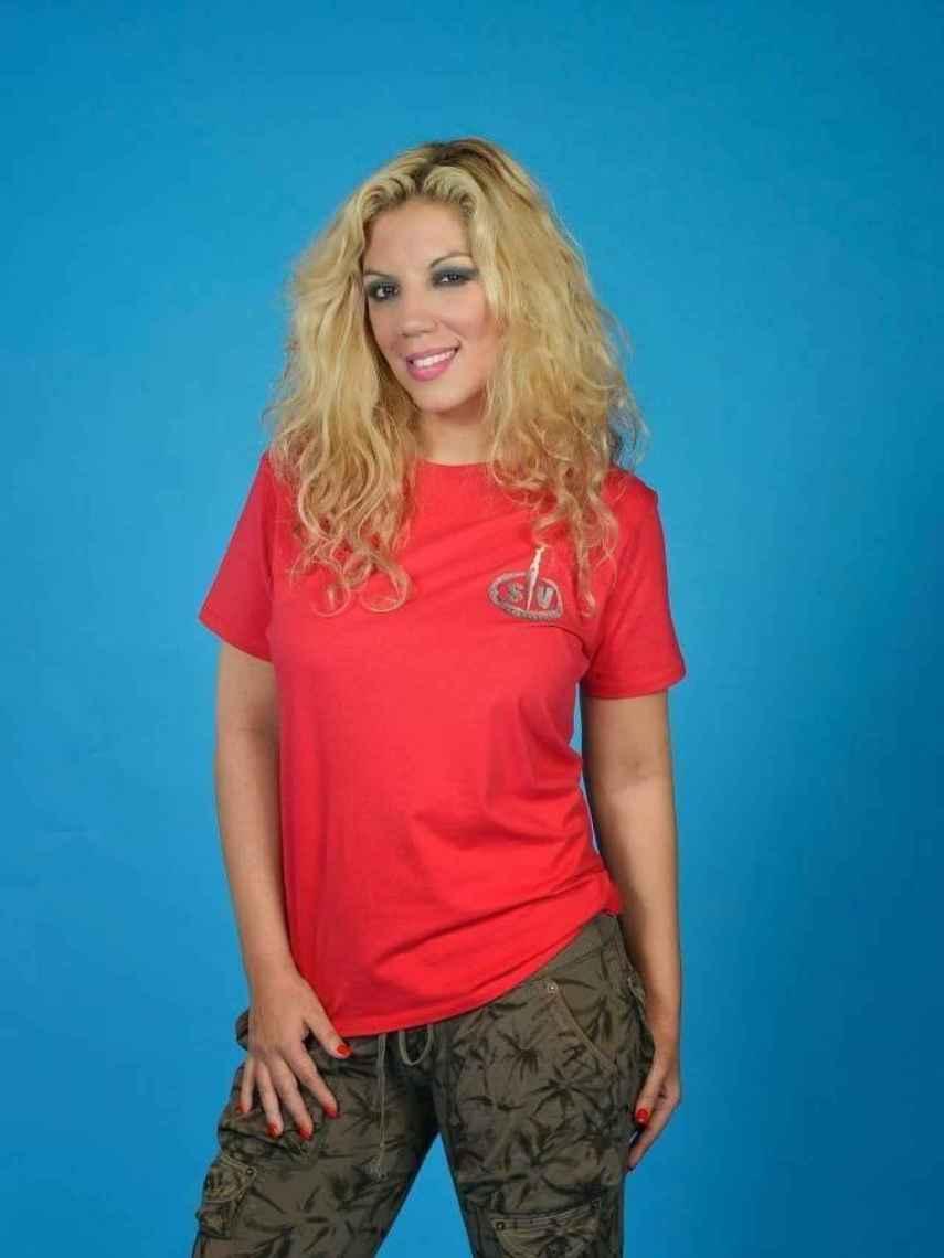 Rebeca en su foto oficial de 'Supervivientes'.
