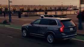 uber volvo xc90 coche autonomo