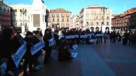 concentracion teatro valladolid protesta 2