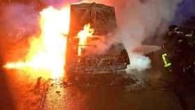 incendio turismo a62 montico valladolid sucesos 1