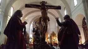 iglesia santiago crucifixion siete palabras valladolid 1