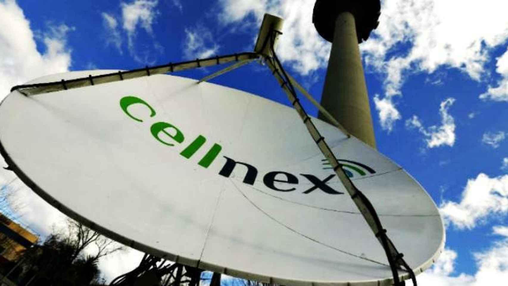 Una antena repetidora de Cellnex en Torrespaña (Madrid).