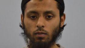 Umar Haque, el terrorista condenado a cadena perpetua en Londres.