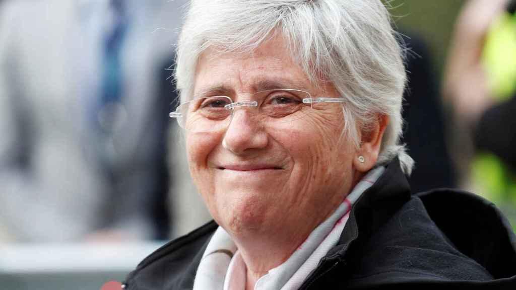 La exconsellera de Educación Clara Ponsatí, este miércoles