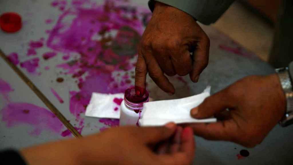 Inscripción en el censo electoral egipcio
