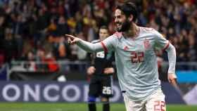 El jugador de la Selección Española, Isco.