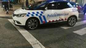 colision coche policia valladolid semana santa 1
