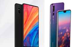 Xiaomi Mi Mix 2S contra Huawei P20 Pro: duelo de móviles top