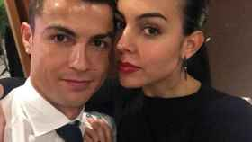 Cristiano y Georgina. Foto. Instagram (@cristiano)