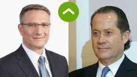 COMO LEONES: Wolfgang Beck (Testa Residencial) y Juan Carlos Escotet (Abanca)