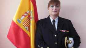 Carolina Meléndez posa tras conocer su ascenso.