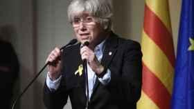La ex-consellera Clara Ponsati quiere que le pagues sus gastos legales