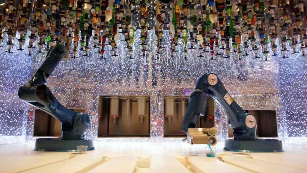 El bar robótico.