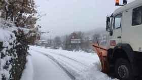 zamora nieve carreteras sanabria 01