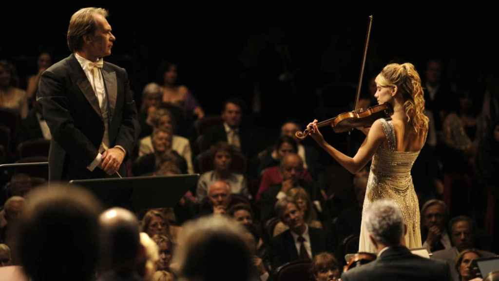 Fotograma de la película El concierto.