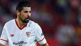 Nolito, en un partido con el Sevilla. Foto. Instagram (@nolitoo10)