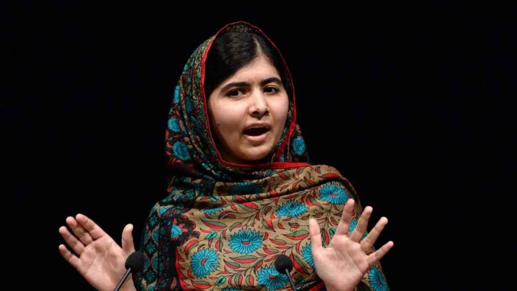 Malala Yousafzai en una imagen de archivo.