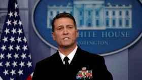 Ronny Jackson, hasta ahora médico presidencial, en una imagen del pasado enero.