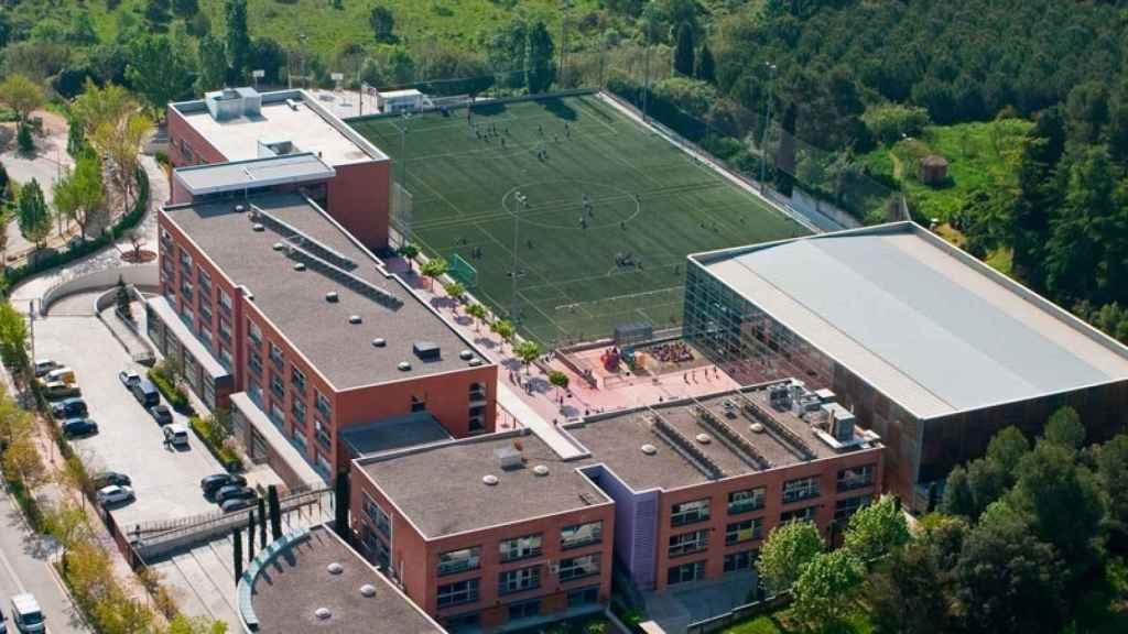 Ambos hijos de Llarena estudiaron catalán en el colegio privado European International School of Barcelona