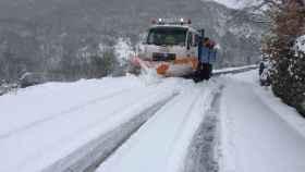 zamora nieve carreteras sanabria 03