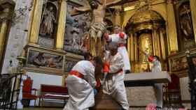 lavatorio crucifixion nava rey valladolid semana santa 9