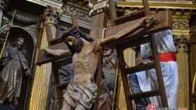 lavatorio crucifixion nava rey valladolid semana santa 14