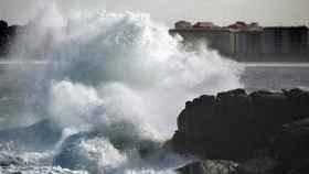 Galicia ha registrado olas de hasta ocho metros. Imagen de archivo.