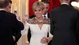 Brigitte Macron, mujer de Emmanuel Macron.