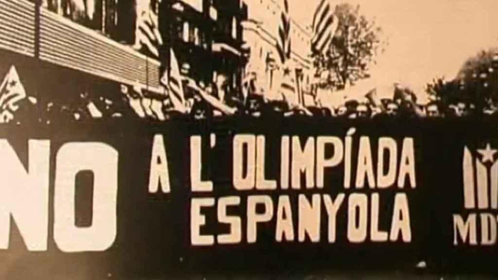 El independentismo radical estaba en contra de los Juegos Olímpicos de Barcelona