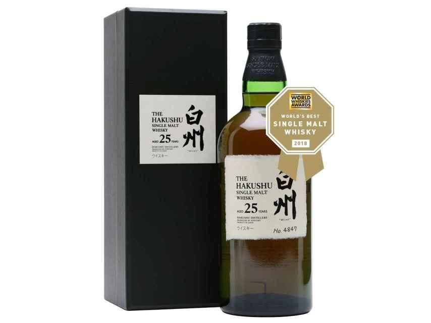 El Hakushu de 25 años se ha impuesto como mejor whisky del mundo