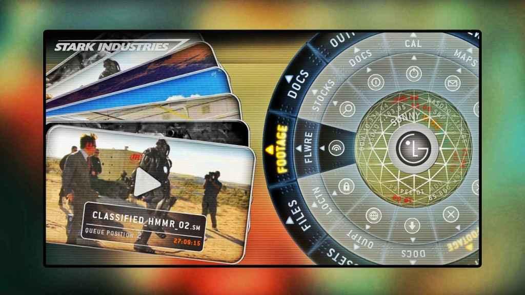 Joint-venture de Stark Industries y LG en tecnología móvil.