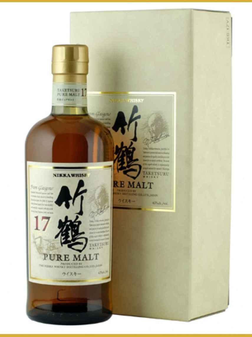 El Nikka Taketsuru de 17 años también ha ganado un premio importante