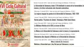 ciclo cultural colegio medicos salamanca