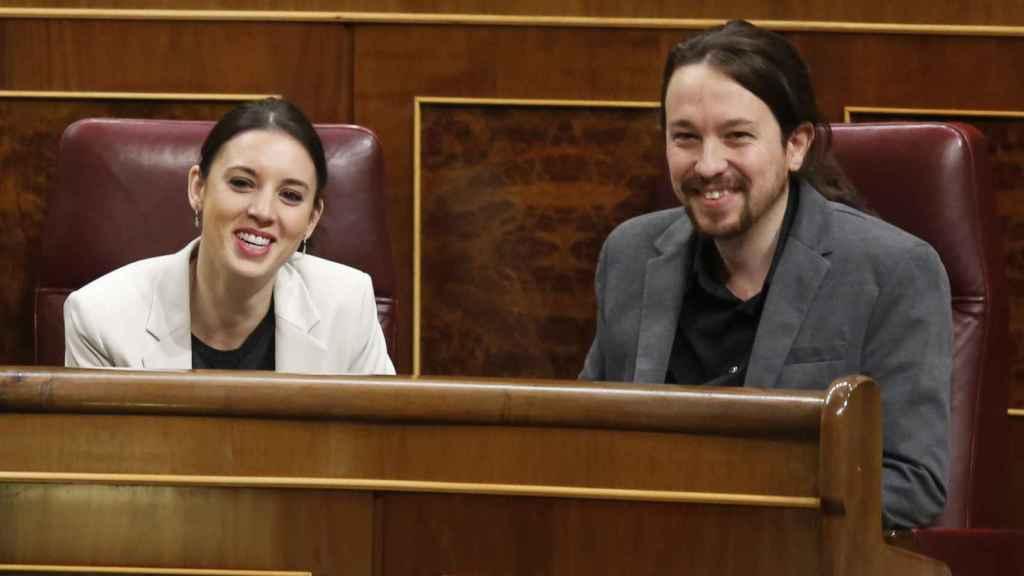 La pareja en una imagen de archivo. GTRES.