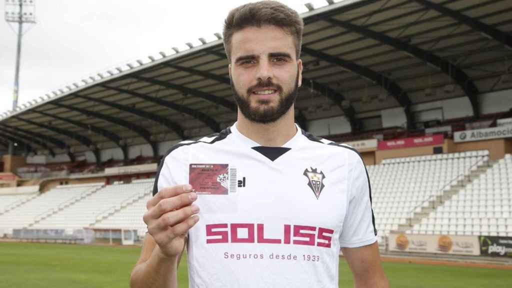 Pelayo Novo, jugador del Albacete.