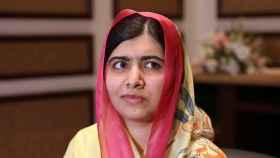 Malala, durante una entrevista en Pakistán.